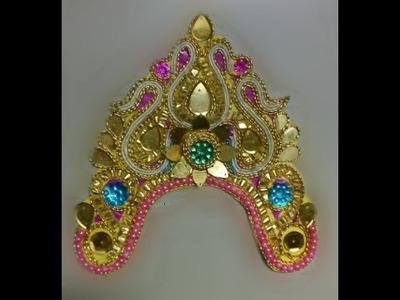 How To Make Ornaments For Durga Pratima