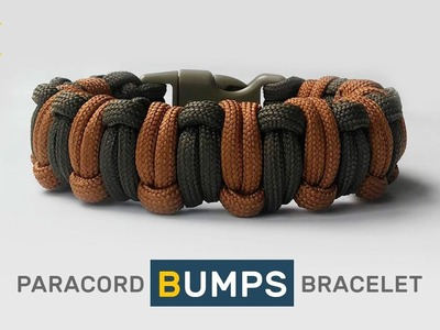 How to make Paracord Bracelet The Bumps