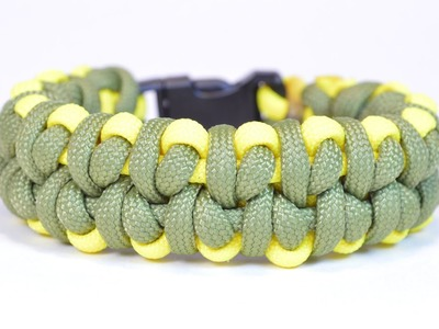 """How to Make the """"Pea Pod"""" Paracord Survival Bracelet - Bored? Paracord!"""