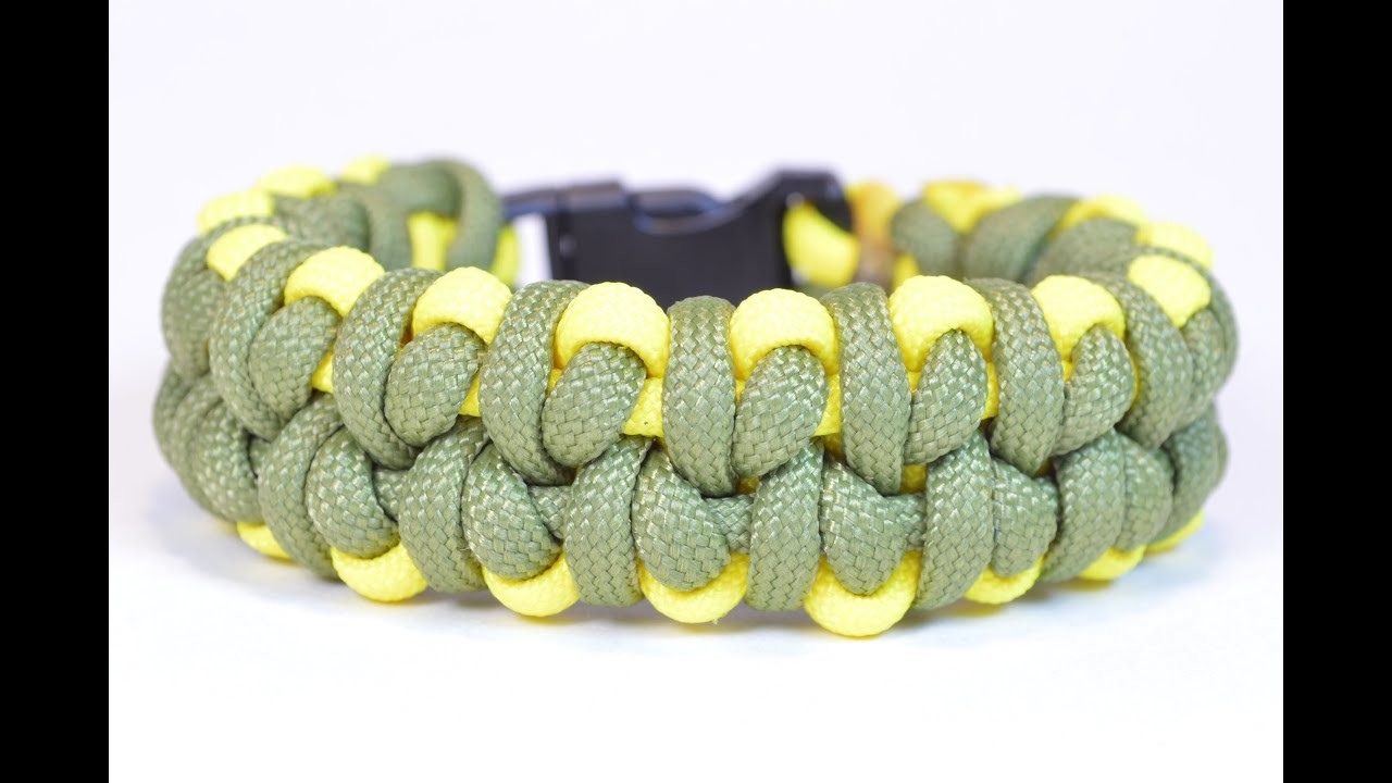 "How to Make the ""Pea Pod"" Paracord Survival Bracelet - Bored? Paracord!"