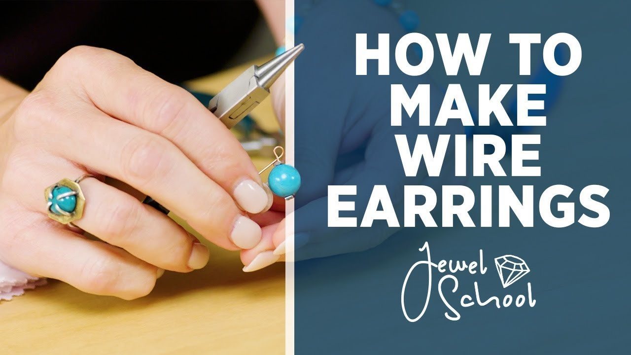 How to Make Wire Earrings | Jewelry 101