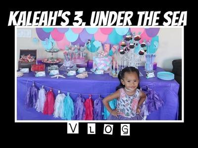 Kaleah's 3 Under The Sea Mermaid Party - DITL 69