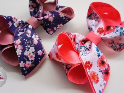 Laço Boutique Charme ???? Ribbon Bow Tutorial ???? DIY by Elysia Handmade
