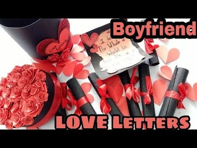 Love Letters For Boyfriend || Love Letters Jar|| Burned Love Letters Inside.