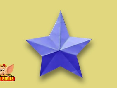Make a Kirigami 5 Point Star