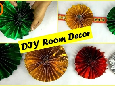 Make Diwali Wall Hanging at Home I DIY Room Decor I Best out of waste craft I Creative Diaries