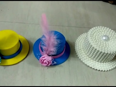 Make summer Hat for Bal gopal - Easy Hat Making with form sheet | Shyam Diwani