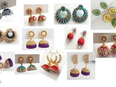 My Over All Silk Thread Jhumkas Collection