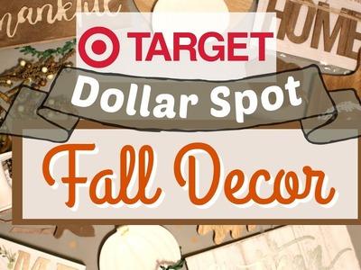 NEW FALL Target Dollar Spot 2018 | Cute Fall Farmhouse Decor | Target Fall Haul | KraftsbyKatelyn