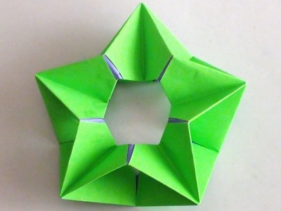 Origami Modular Paper Star | How to Make Paper Crafts Video Tutorial