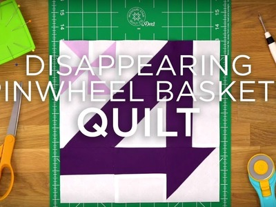 Quilt Snips Mini Tutorial - Pinwheel Basket