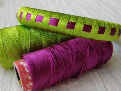 Silk Thread Checker model Bangles making- Basic Design  CC 100