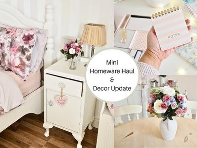 Spring decor update and Mini homeware haul