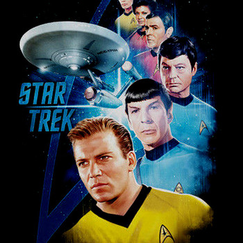 CRAFTS Star Trek Cross Stitch Pattern***LOOK***