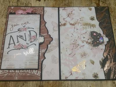Tutorial  2.7  Amelia Cherry Big Size mini album