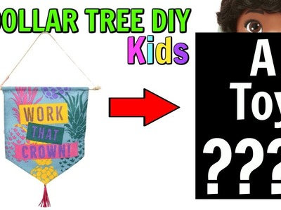 3 DOLLAR TREE DIYS YOU NEVER THOUGHT OF! KIDS EDITION OCTOBER 12 2018