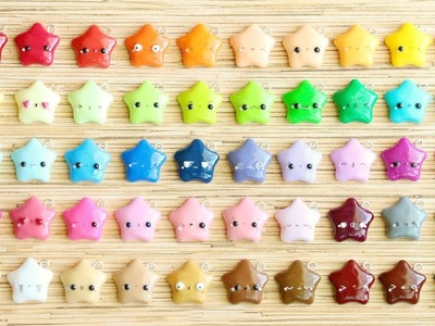 50 Kawaii Faces in Polymer Clay Tutorial