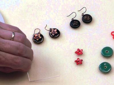 Antelope Beads - How to Make a Spiral Hanger for Earrings