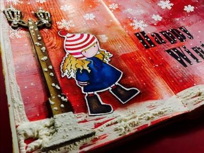 Art Journal HAPPY WINTER. !!!