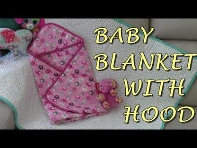 Baby Blanket With Hood