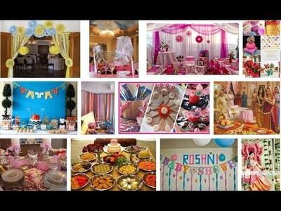 Baby shower decoration ideas india