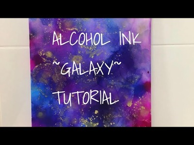 BEGINNERS TUTORIAL | Alcohol Ink on Canvas | Aus Art