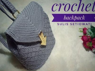 Crochet || Crochet backpack 2