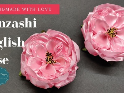 D.I.Y. Kanzashi English Rose | MyInDulzens