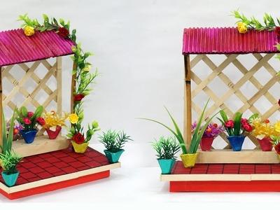 DIY Cardboard House Home Decoration Idea | Best Out of Waste Home Decoration Using Cardboard