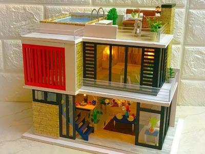 DIY Miniature Dollhouse Kit Florence