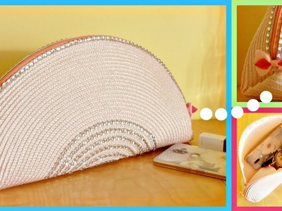 DIY Pouch Bag Out of Placemat (Cute & Easy)
