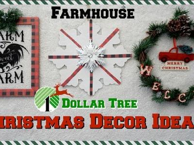 DOLLAR TREE CHRISTMAS DIYS 2018   4 EASY IDEAS FARMHOUSE DECOR  Momma From Scratch