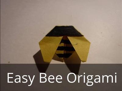 Easy Bee Origami