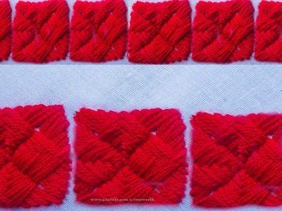 Hand Embroidery For Beginner |decorative fishbone stitch