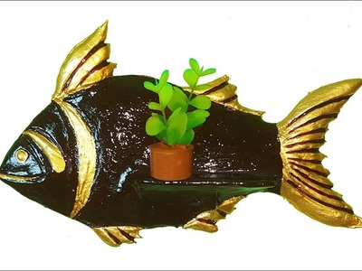 HOME DECORATION SHOWPIECE. wall hanging fish showpiece