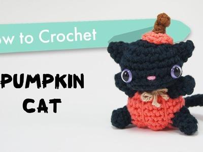 How to Crochet a Pumpkin Cat