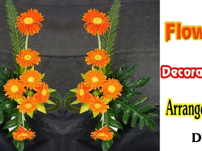 How to do Amazing GERBERA Flower Arrangement FOR altar ?Eps 153