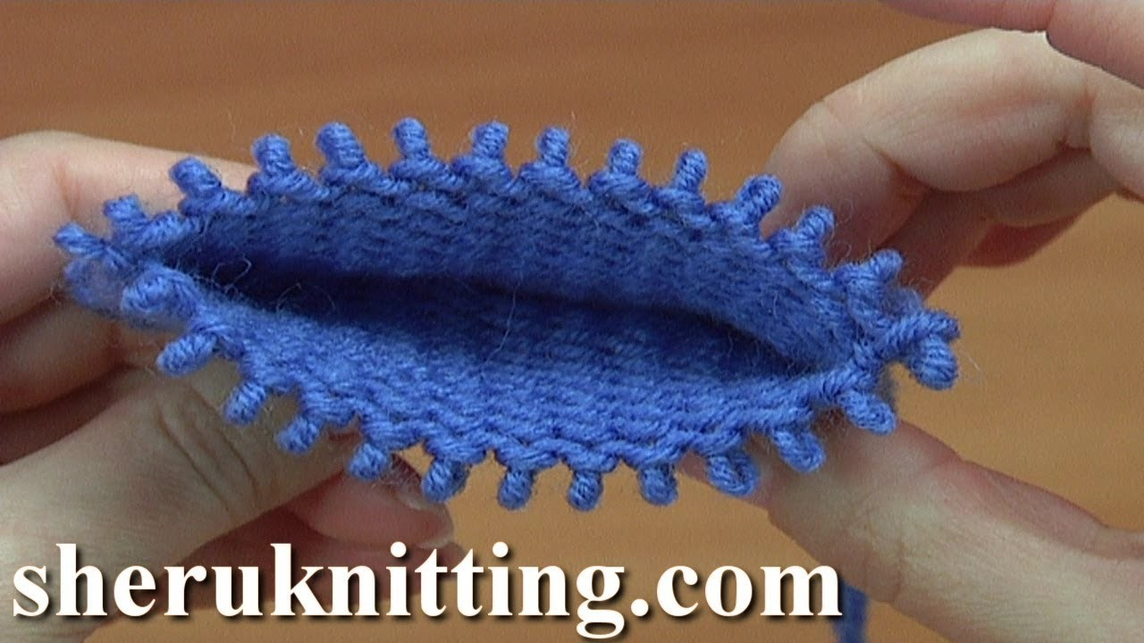 How to Knit Double- Sided Pattern Instruction 30