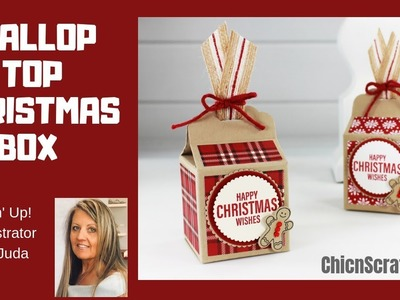 How to make a Scallop Top Christmas Box