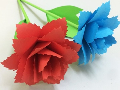 How to Make Beautiful Flower with Paper - Making Paper Flowers Step by Step - DIY Paper Flowers #6