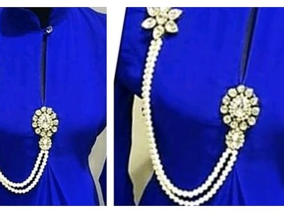 How to Make Brooch Hand made jewellery  Hair Styles & Fashions