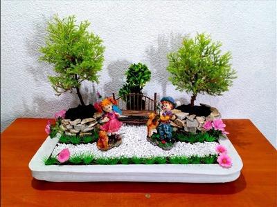 How to make Fairy Garden very easy
