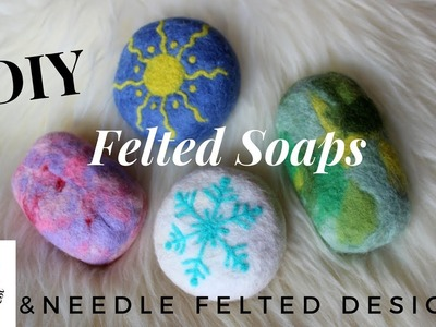 How to make FELTED SOAPS Handmade
