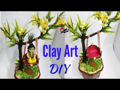 How to make ladoo gopal jhula.how to make bal gopal jhula at home.craftzone4u-55