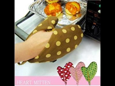 How to make simple oven mitt: sarung tangan oven