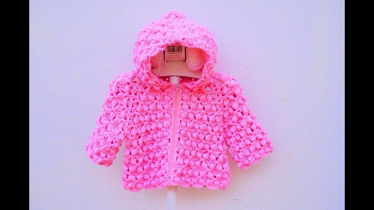 How to put a hood to a crochet jacket