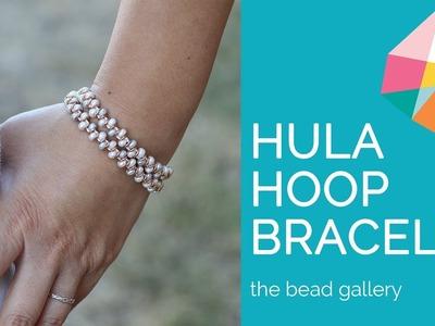 Hula Hoop Bracelet at The Bead Gallery