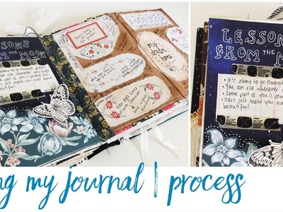 Junk Journal With Me - Ep 19 | Journaling Process Video