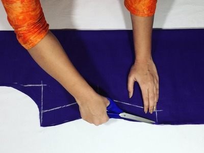 Lining Kameez.Suit Cutting Very Easy Method Step by Step at Home