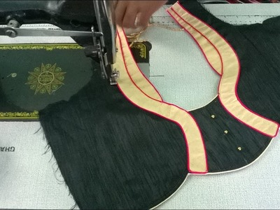 New model blouse cutting and stitching | pattern 20  | tailoring spot #channel's 100th video